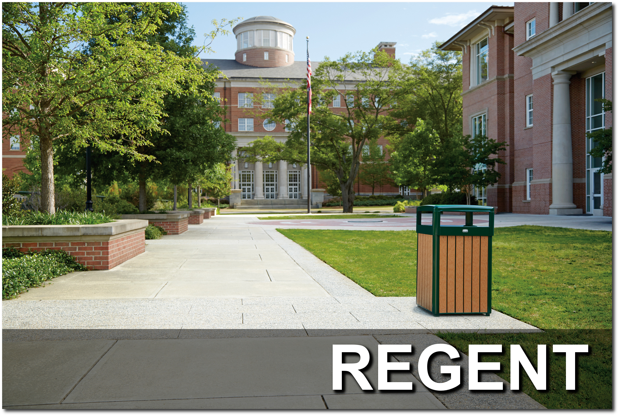 Regent Series Trash Receptacles