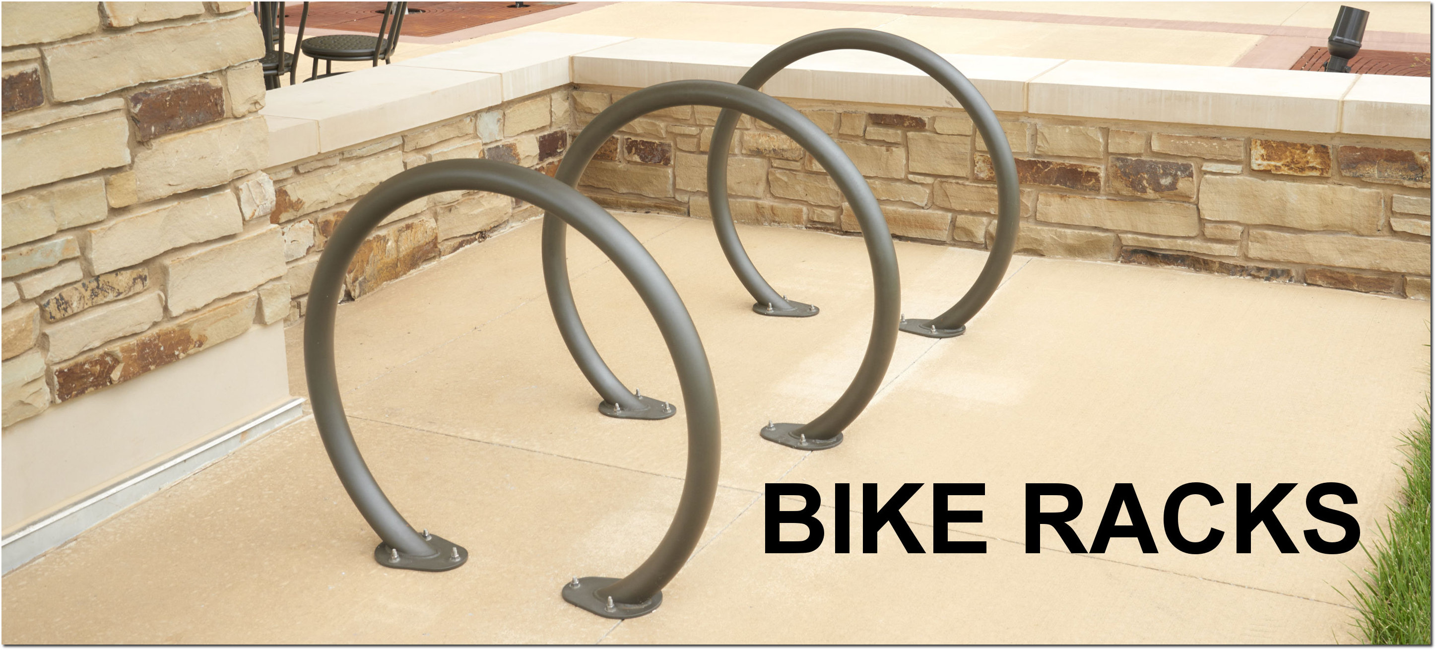 Outdoor Commercial Bike Racks