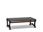 BU8412C  Butler 4' Faux-Wood Flat Bench (Portable/Surface Mounted)