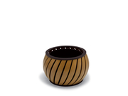 PA7532P  UrbanScape Style A Wide Slat Planter with Faux Wood Finish
