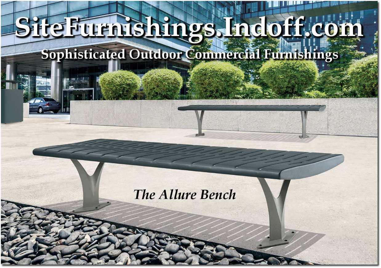 Allure Collection Contemporary Flat Benches