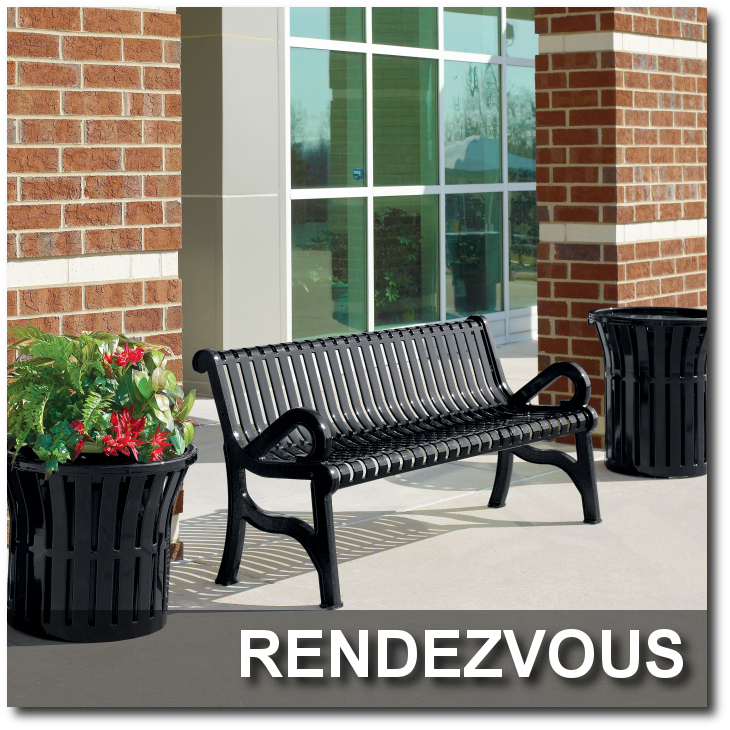 Rendezvous Collection Park Benches
