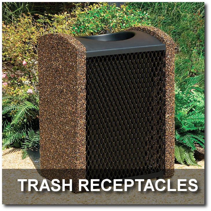 Balance Collection Trash Receptacles