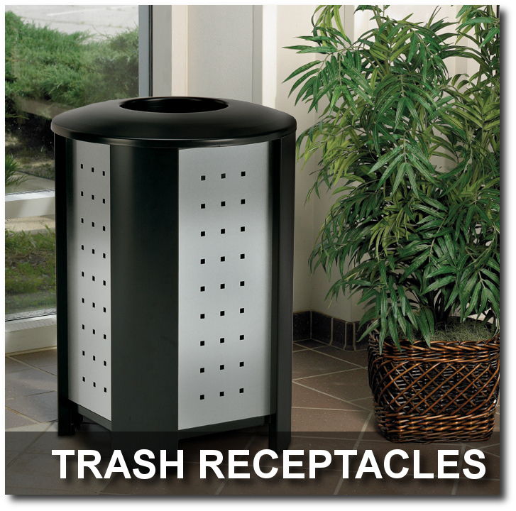 Signature Collection Trash Receptacles