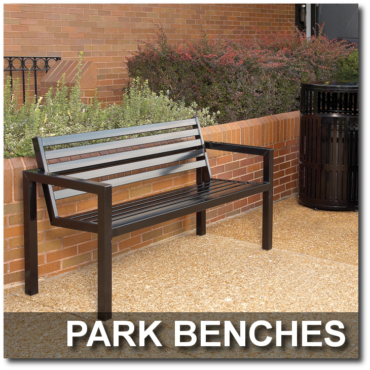 Metrix Collection Park Benches