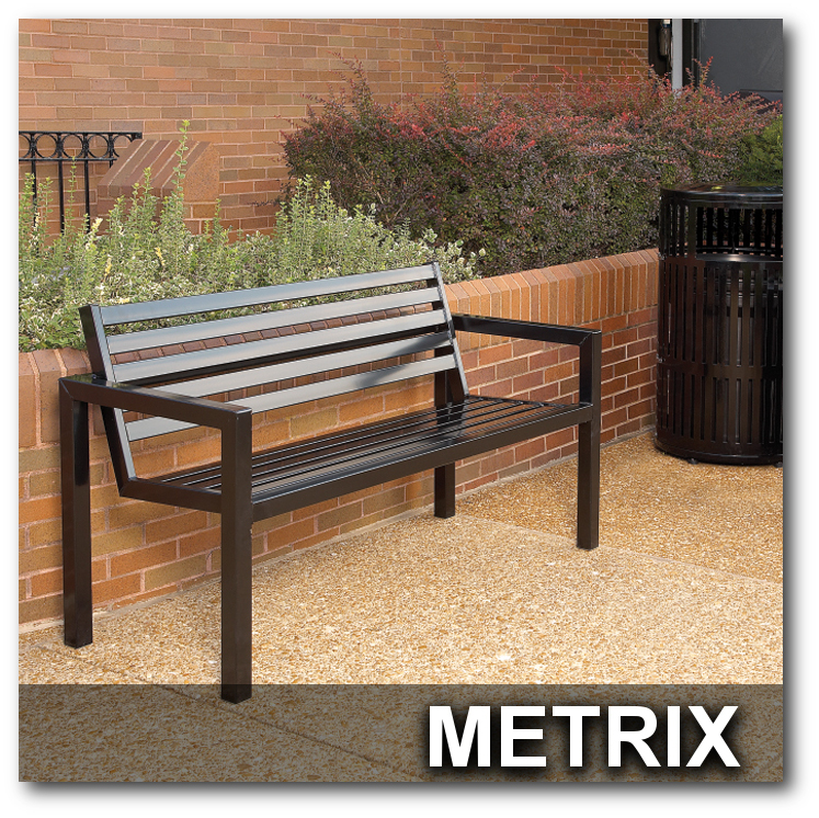 Metrx Collection Park Benches