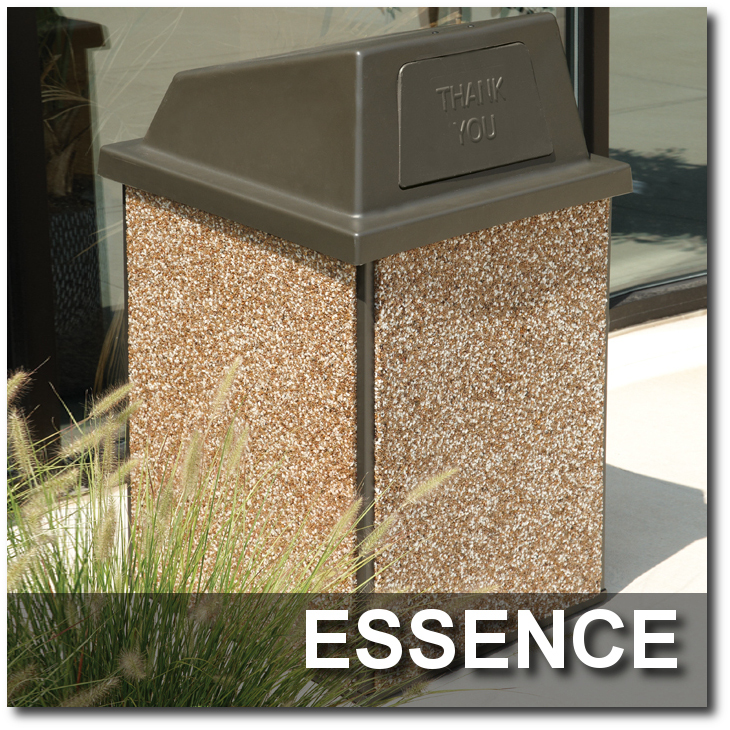 Essence Collection Trash Receptacles