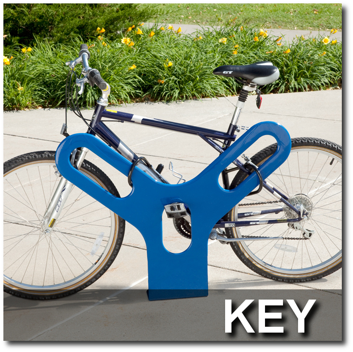 Key Bike Rack