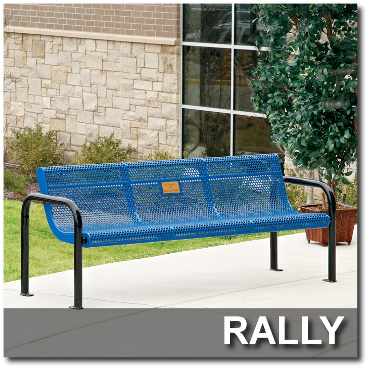 Rally Collection Park Benches