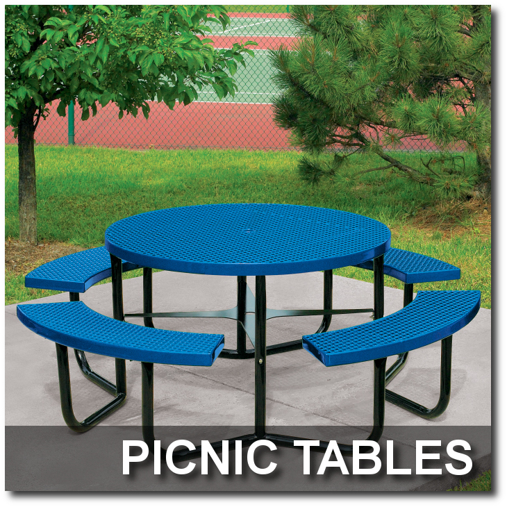Rally Collection Picnic Tables