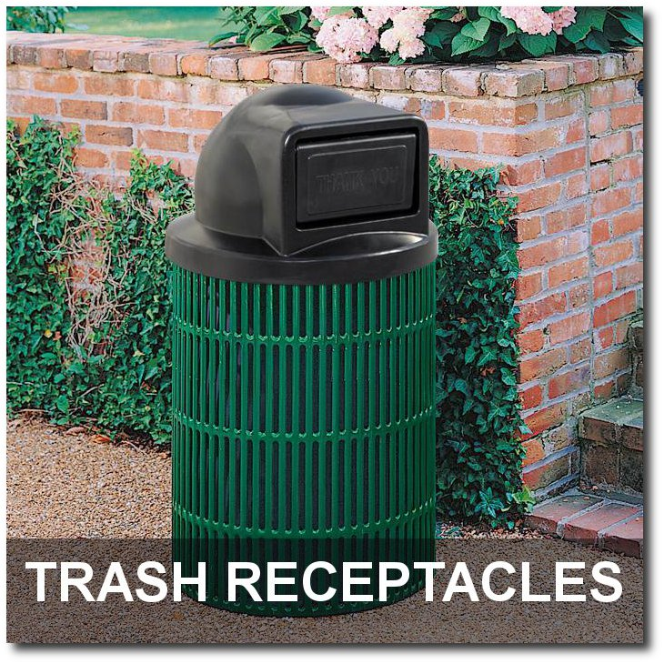 Ultra Collection Trash Receptacle