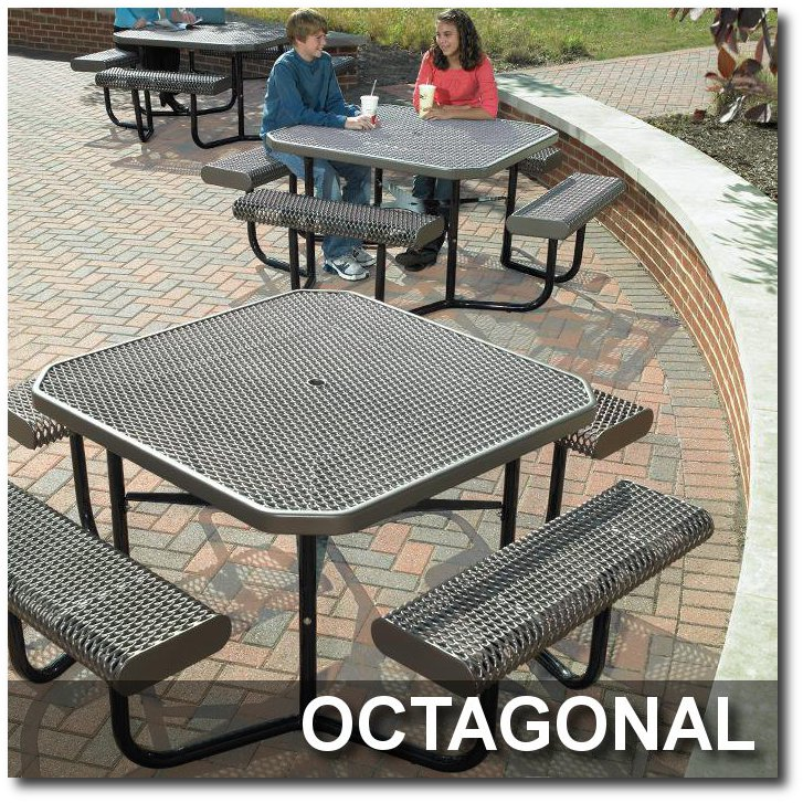 Octagonal Picnic Tables
