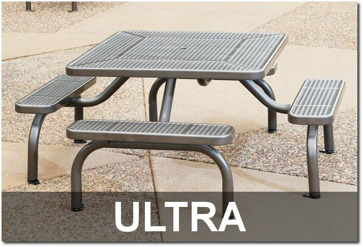Ultra Collection Commercial Outdoor Site Furnishings