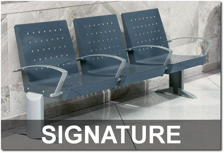 Signature Collection Contemporary Outdoor Commercial Site Furnishings