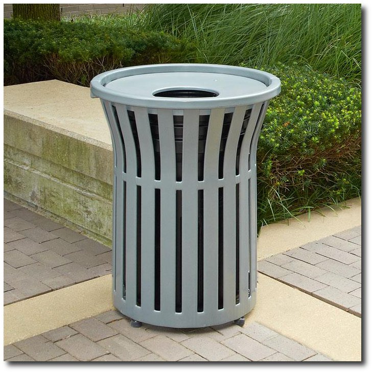 Rendezvous Collection Trash Receptacles