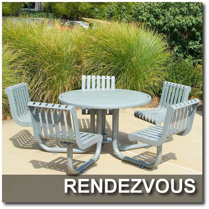Rendezvous Collection Patio Tables