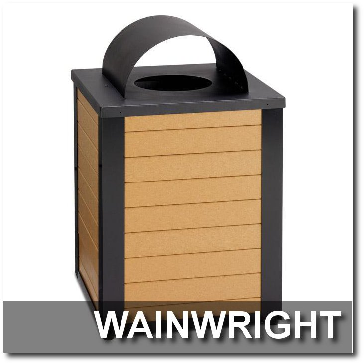 Wainwright Collection Trash Receptacles