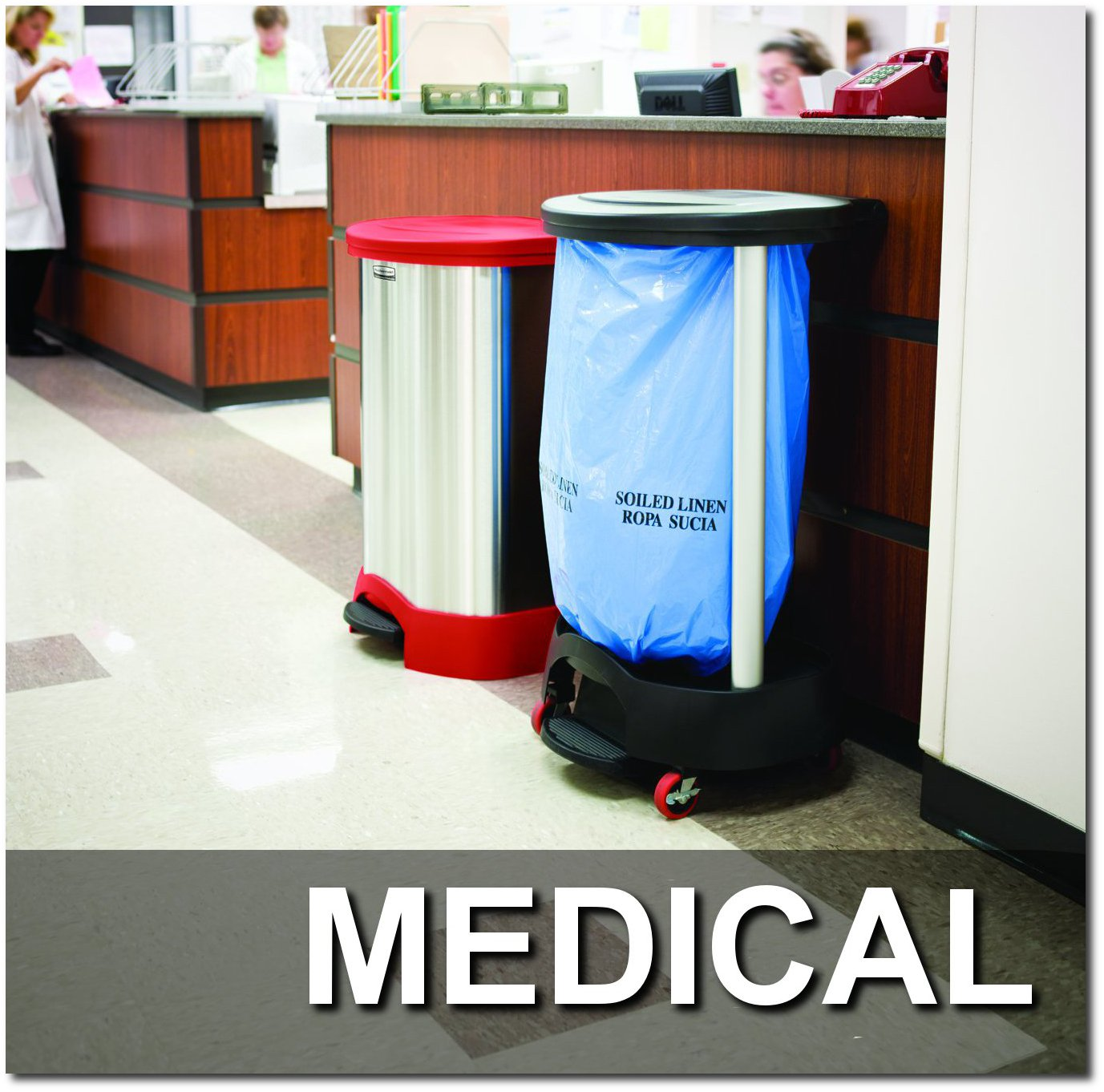Medical Step Cans