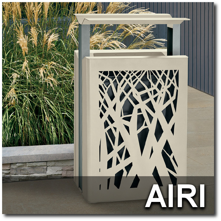 Airi Collection Trash Receptacles