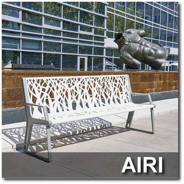 Airi Collection Park Benches
