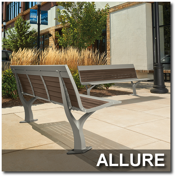 Allure Collection Park Benches