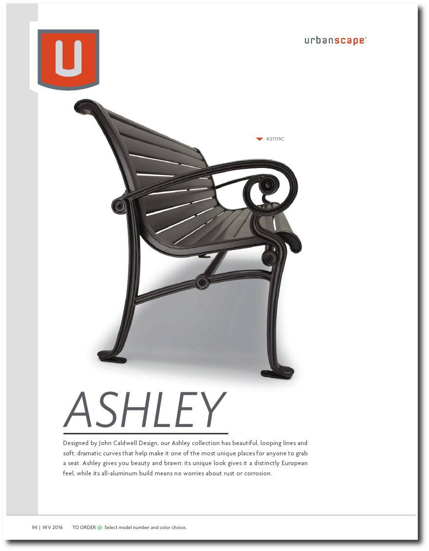 Ashley Collection Catalog Pages