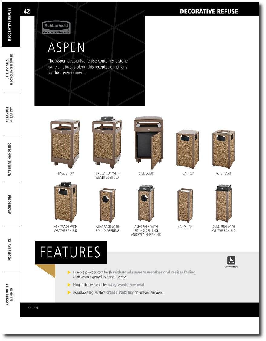 Aspen Series Updated Catalog Pages