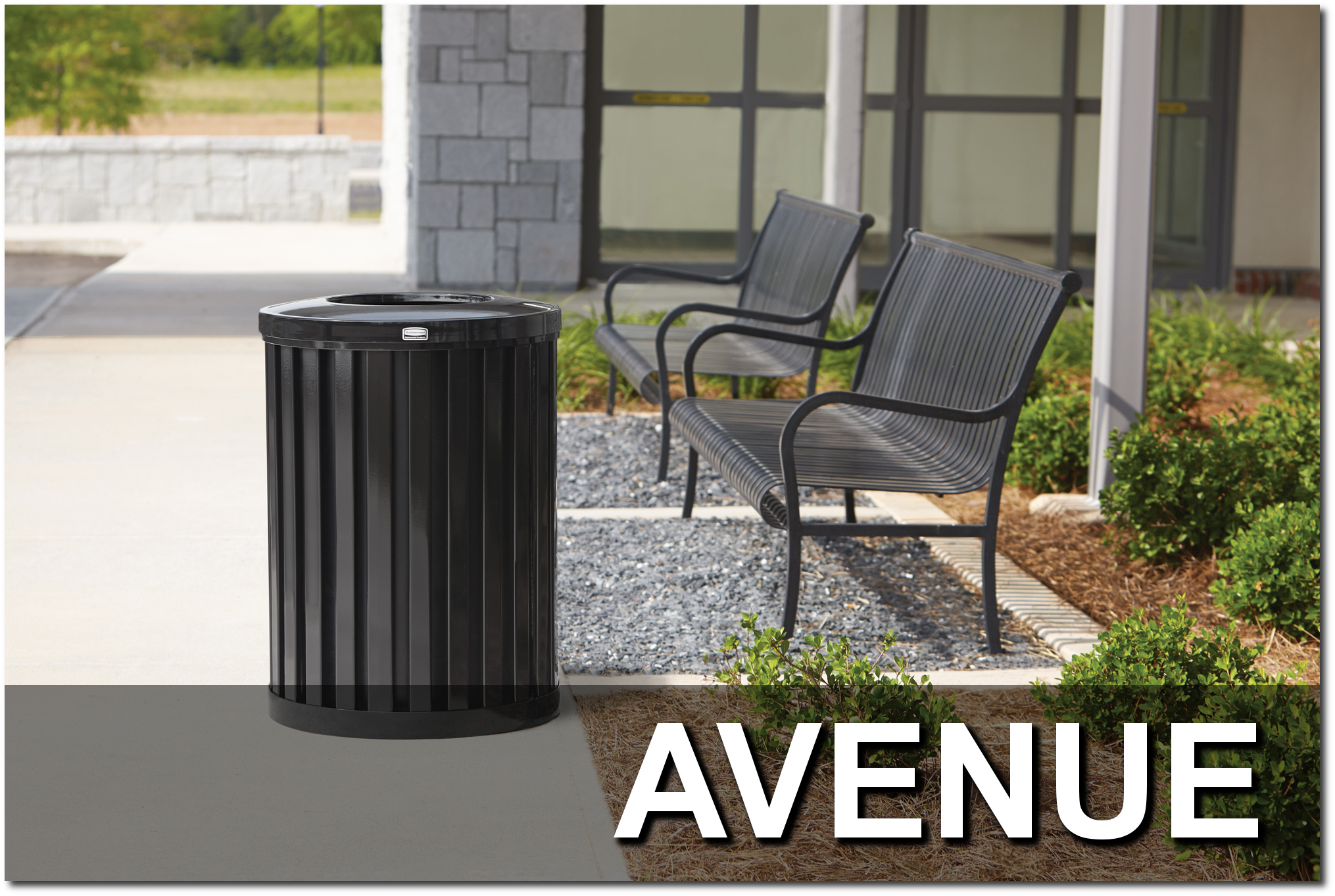 Avenue Series Trash Receptacles