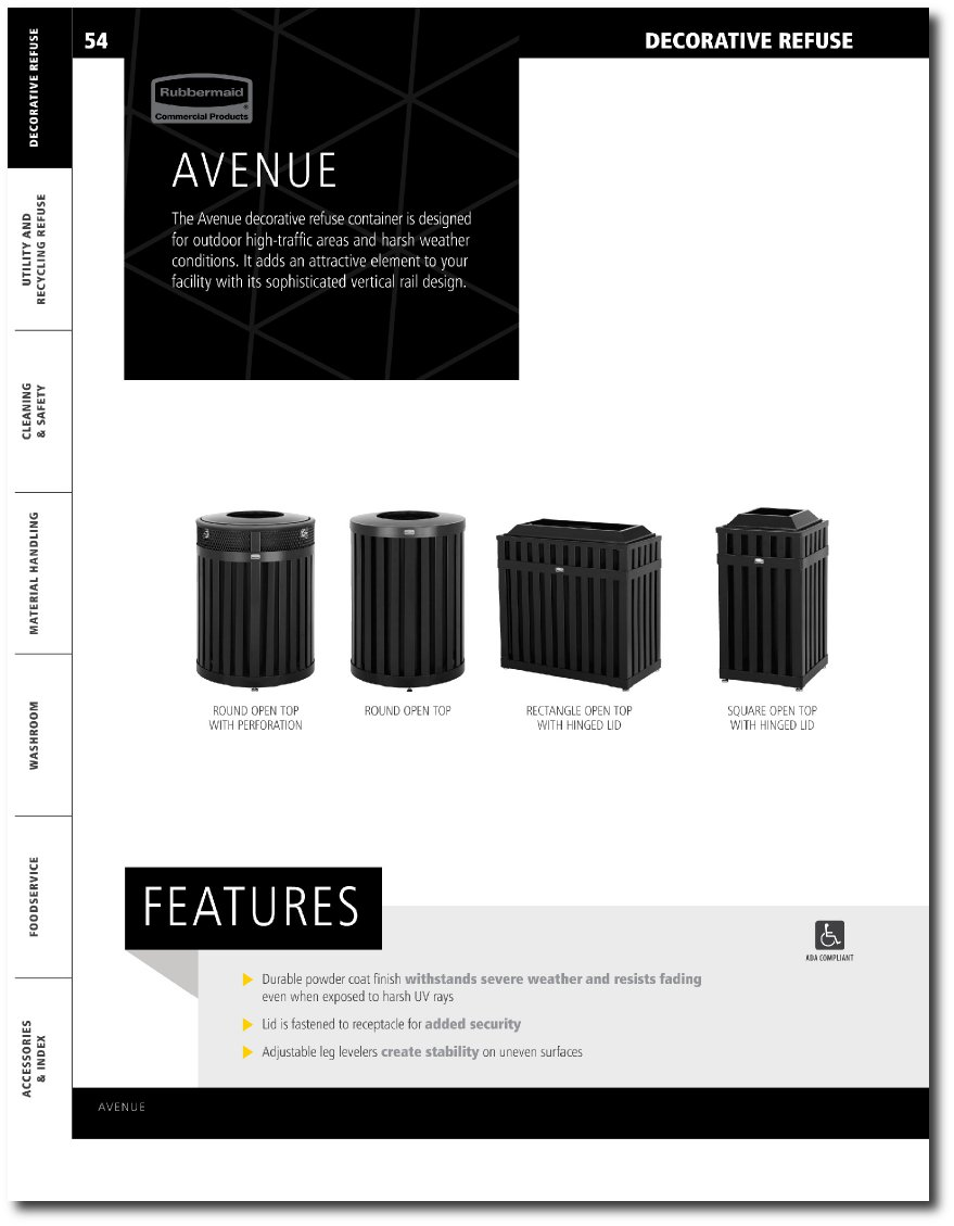 Avenue Series Updated Catalog Pages