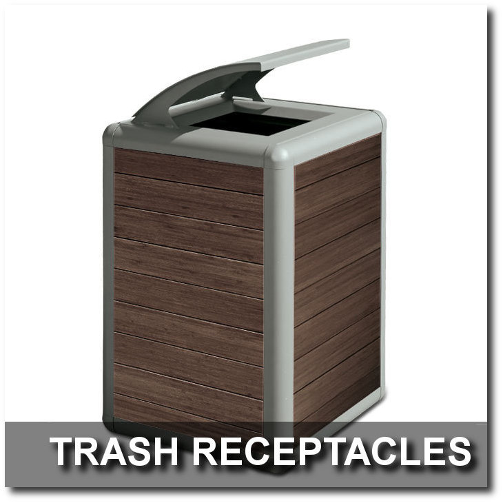 Beacon Hill Collection Trash Receptacles