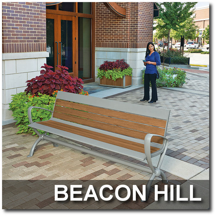 Beacon Hill Collection Park Benches