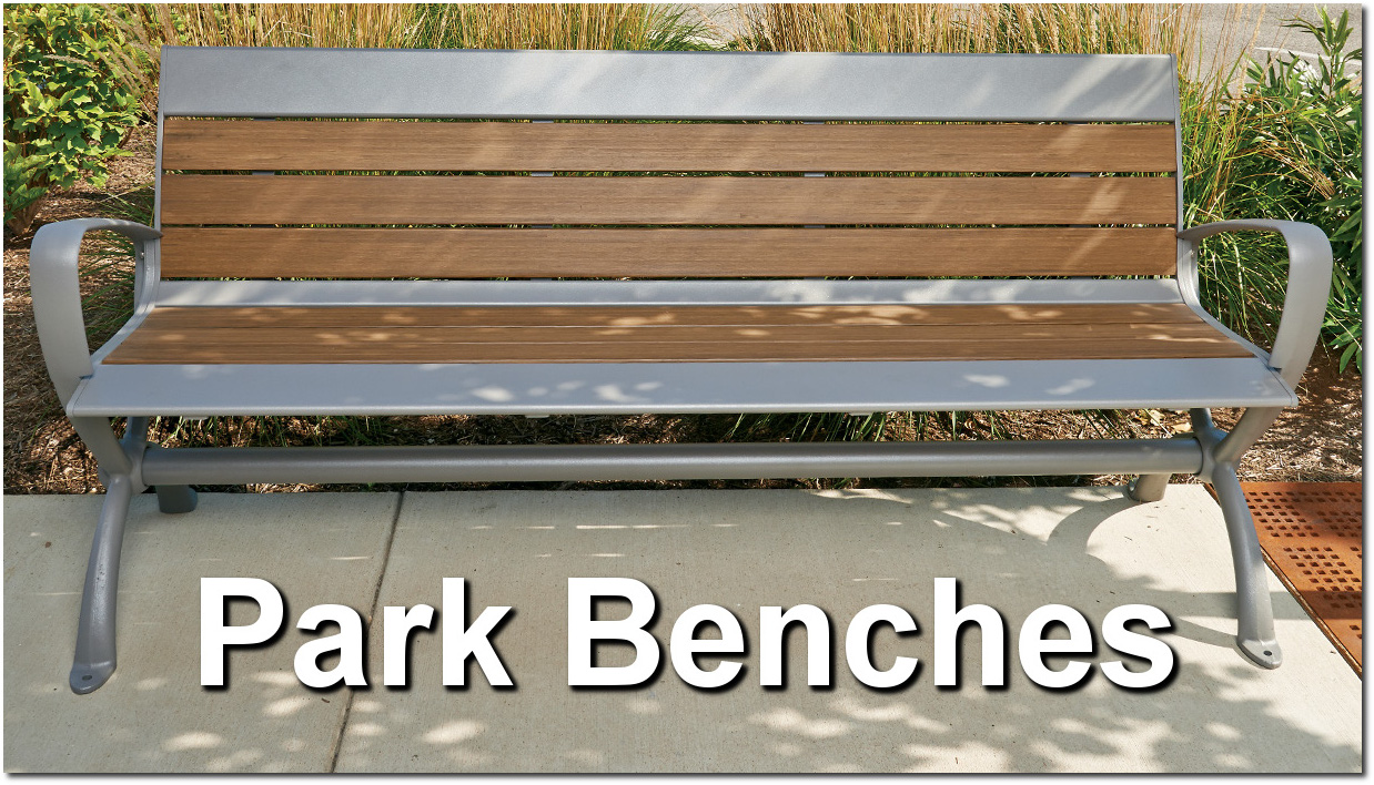 Outdoor Commercial Park Benches