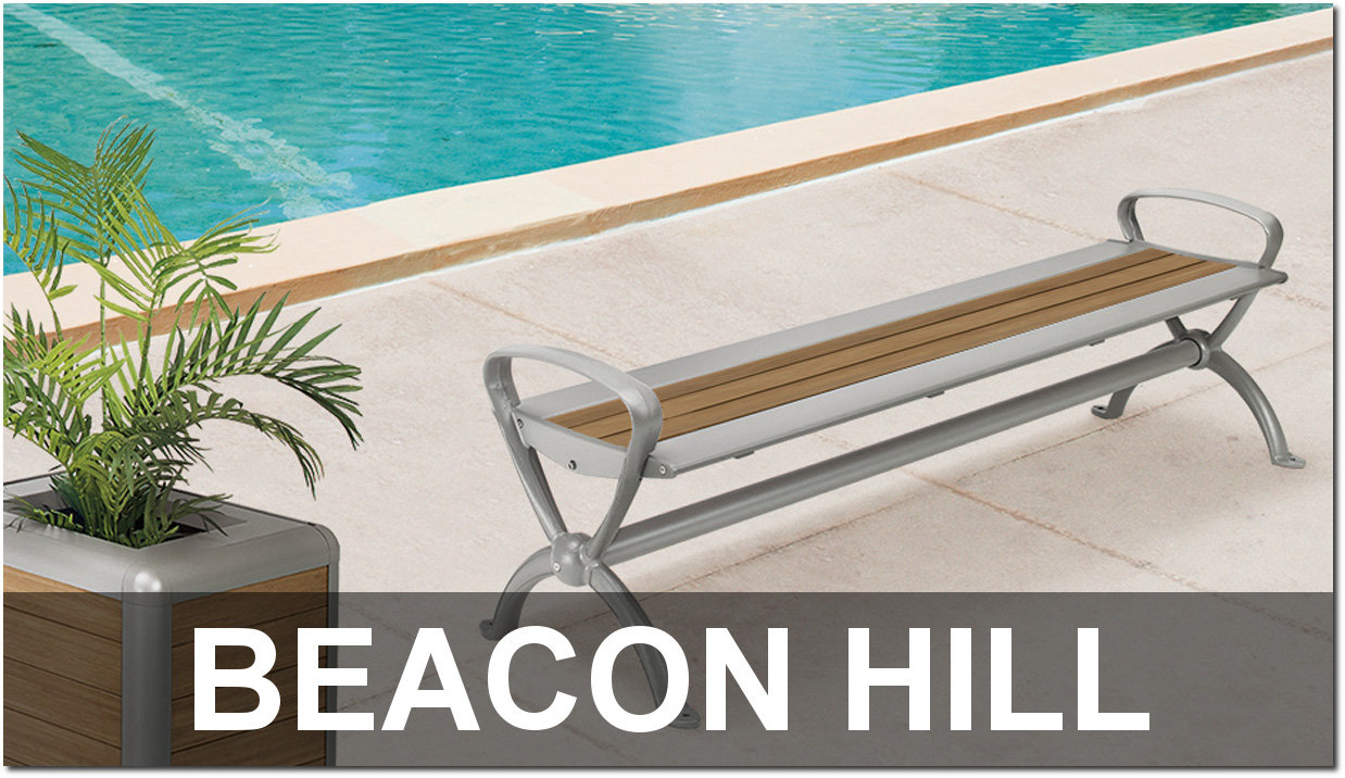 Beacon Hill Collection Upscale Outdoor Commercial Site Furnishings