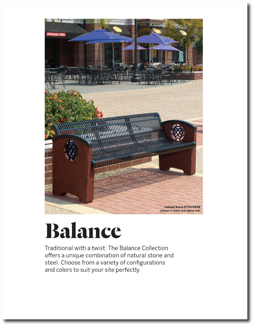 Balance Collection Catalog Pages