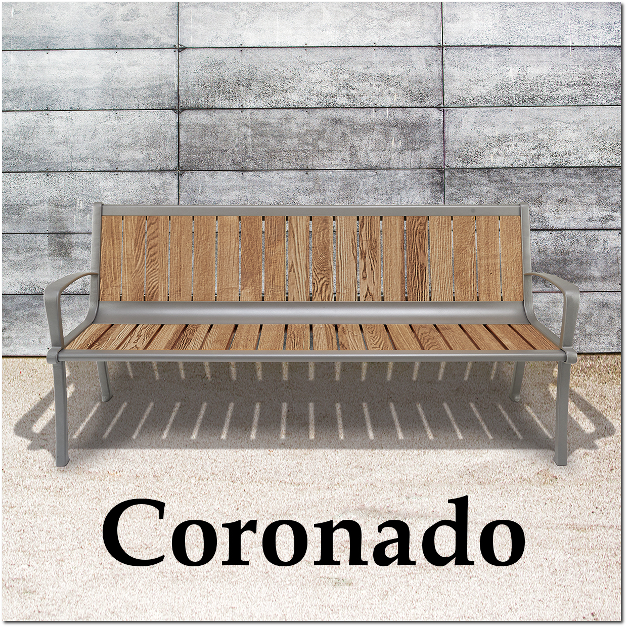 Coronado Collection Park Benches