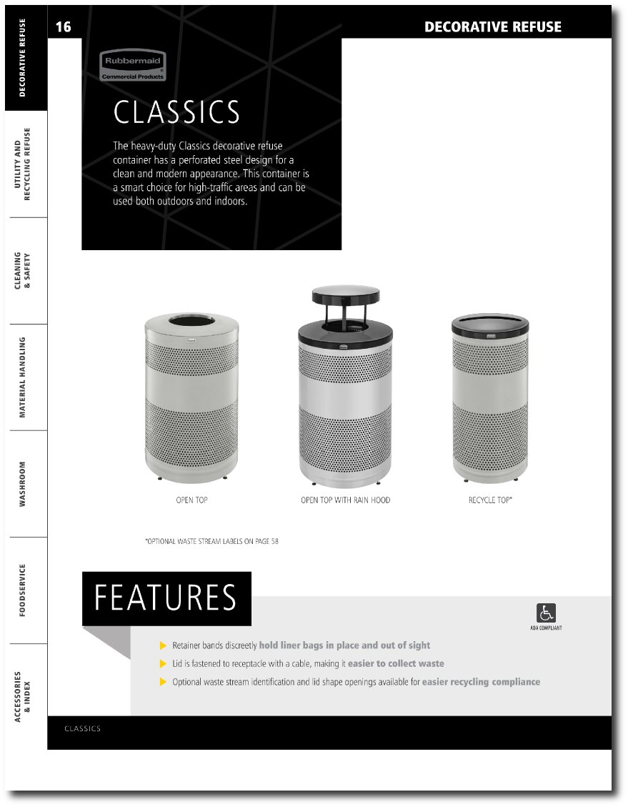 Classics Collection Updated Catalog Pages