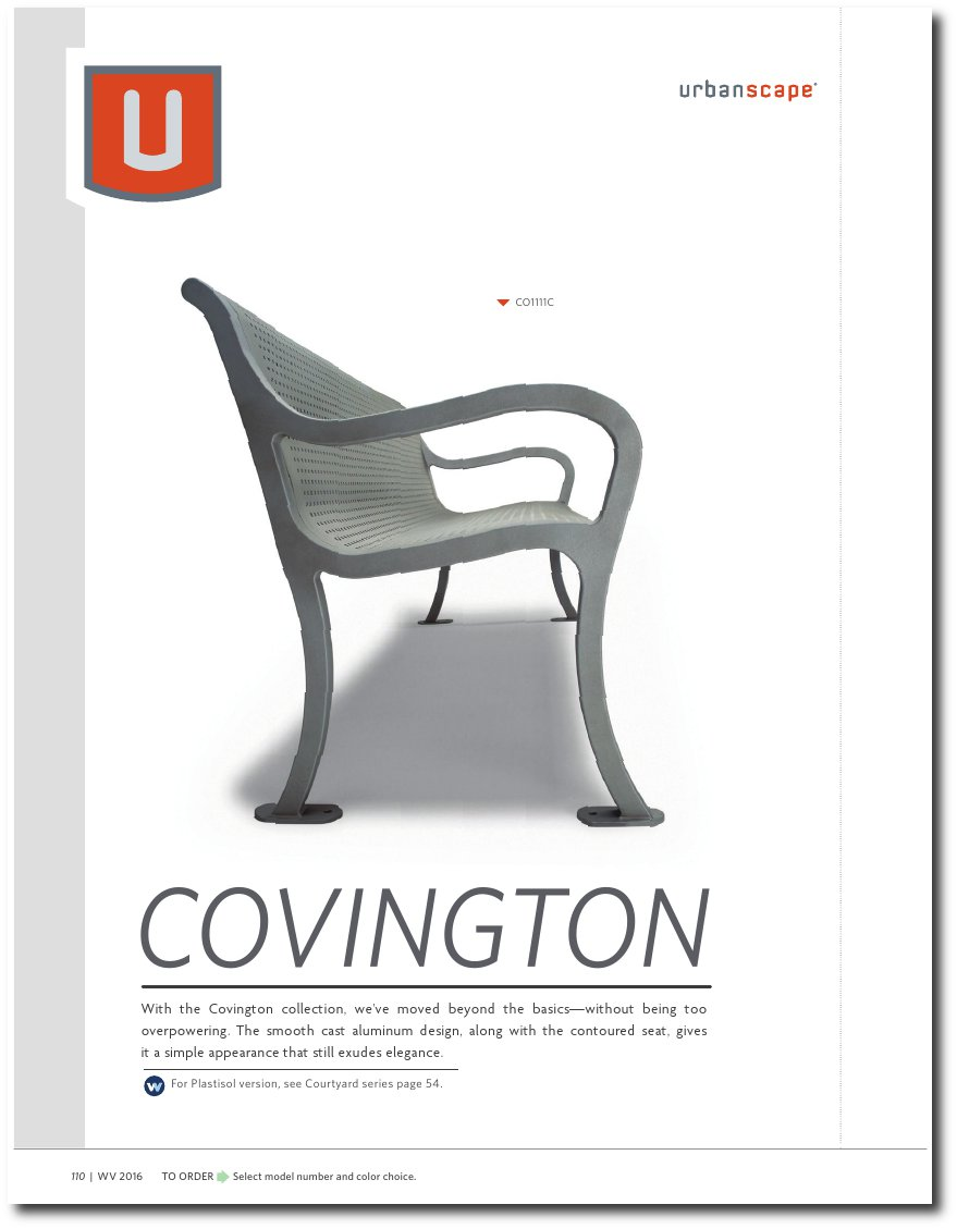 Covington Collection Catalog Pages