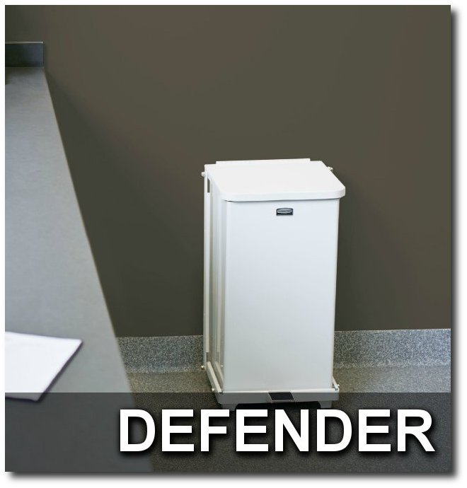 Defender Series Medical Waste Step Cans