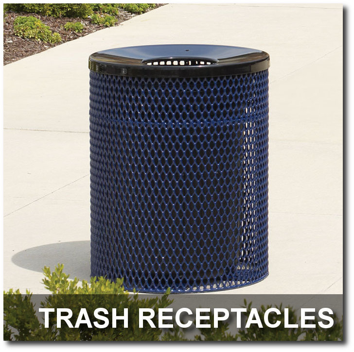 Ultra Collection Trash Receptacles