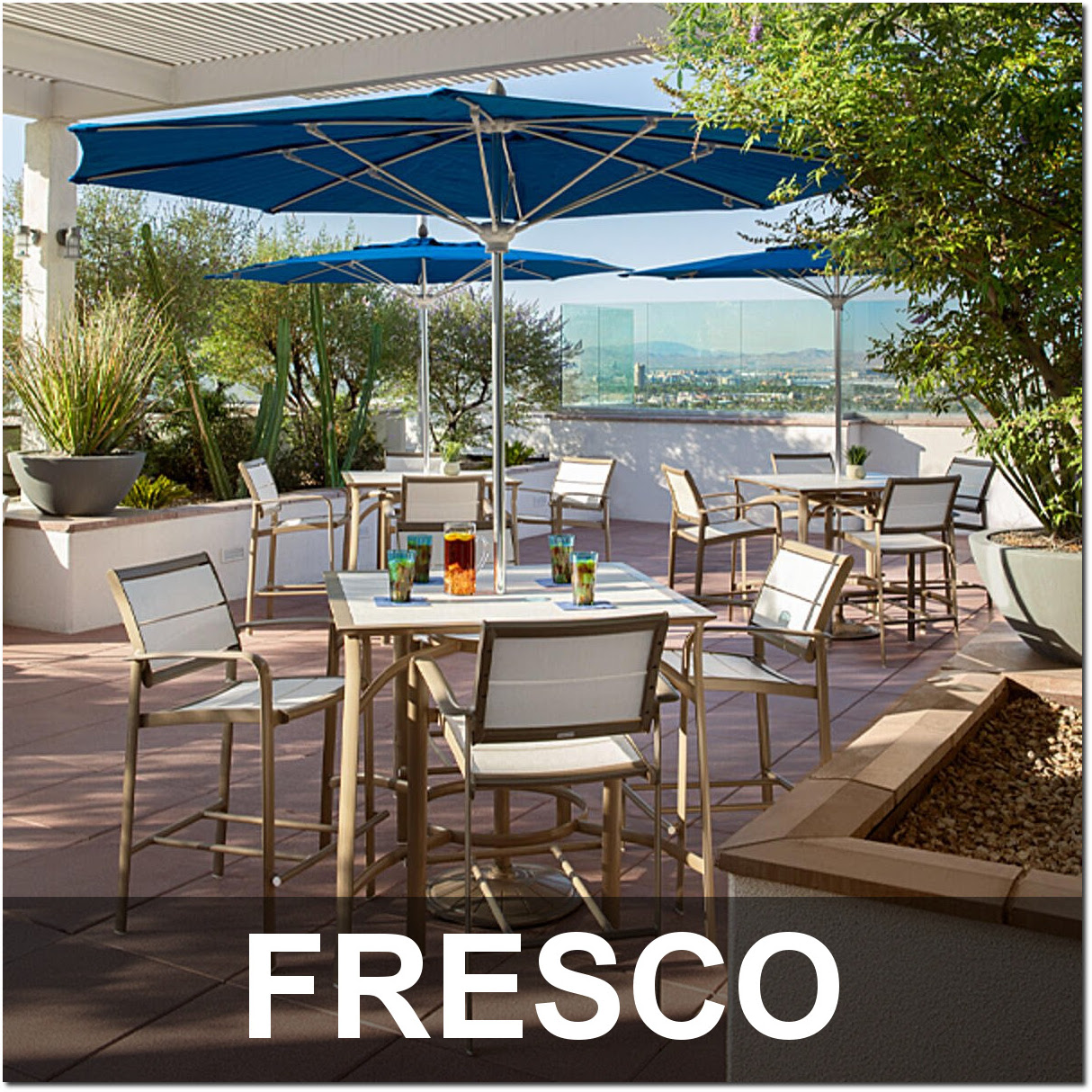 Fresco Collection Recycled Plastic Dining Sets