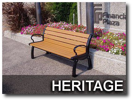 Heritage Collection Park Benches