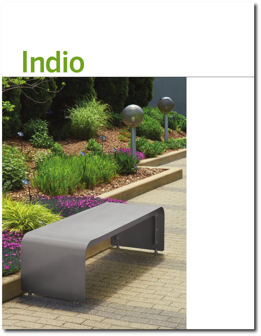 Indio Bench Product Brochure