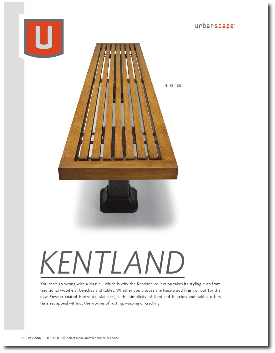 Kentland Collection Catalog Pages