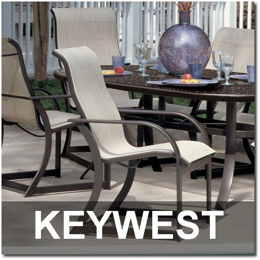 Keywest Collection Sling Outdoor Furnishings