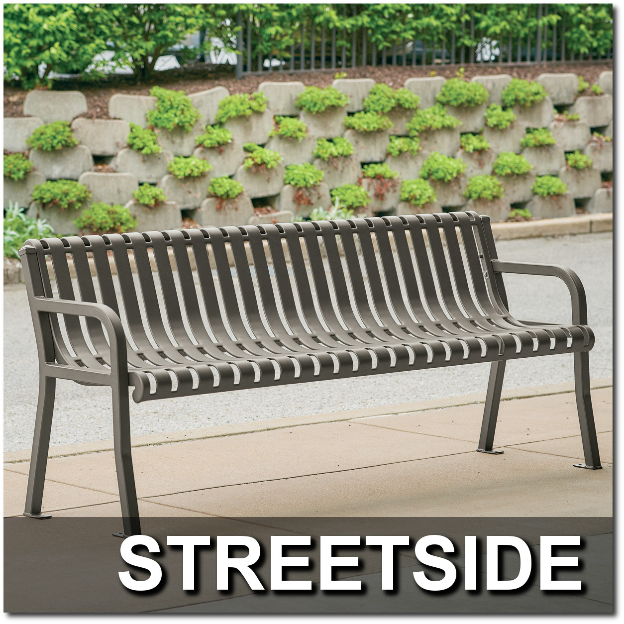 Streetside Collection Park Benches