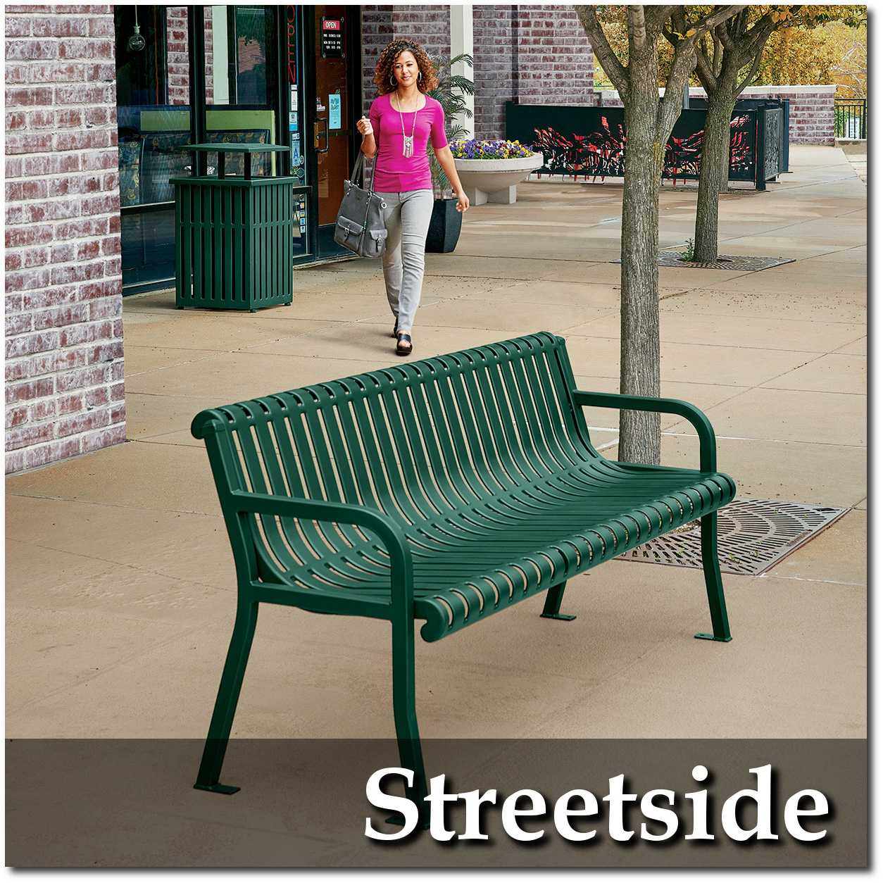 Streetside Park Benches