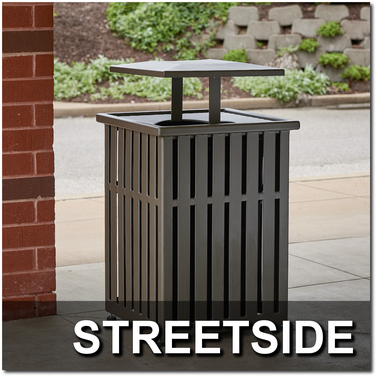 Streetside Collection Trash Receptacles