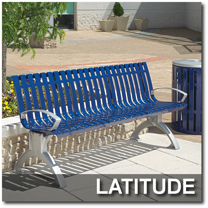 Latitude Collection Park Benches
