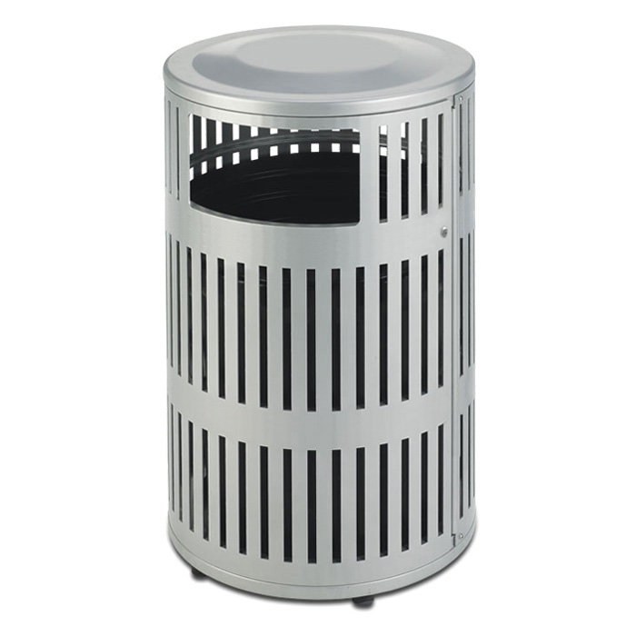 L2009  Metrix 40 Gallon Trash Receptacle with Side Door