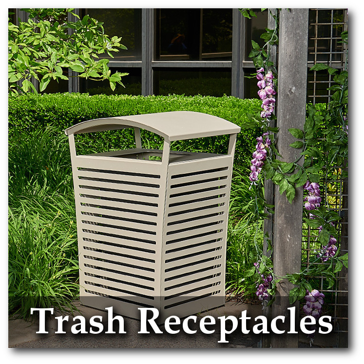 Exposition Trash Receptacle